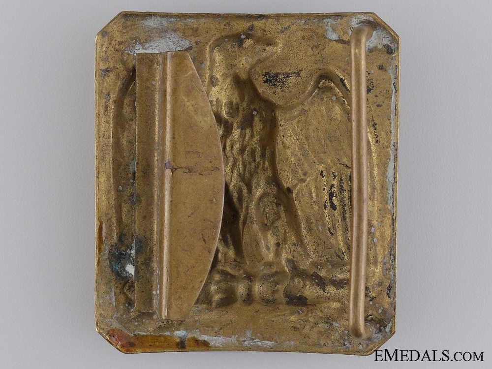 A French Napoleon III Crimea Period Belt Buckle