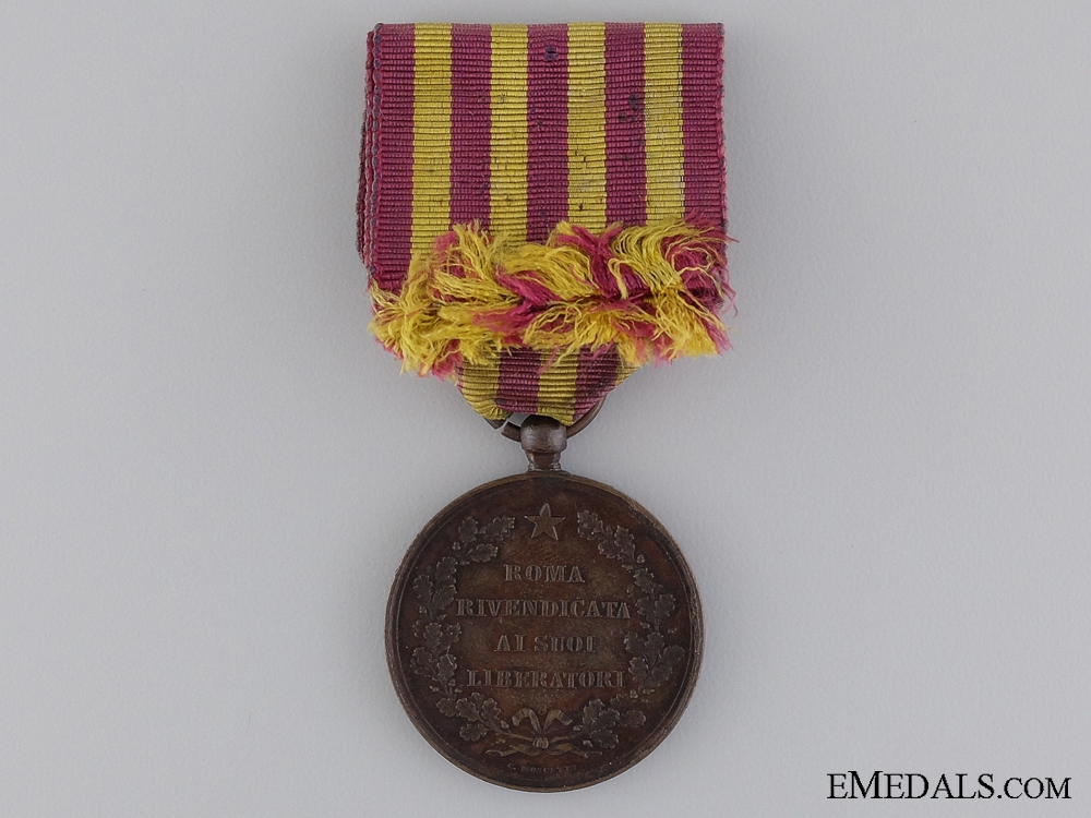 1870 Liberation of Rome Medal