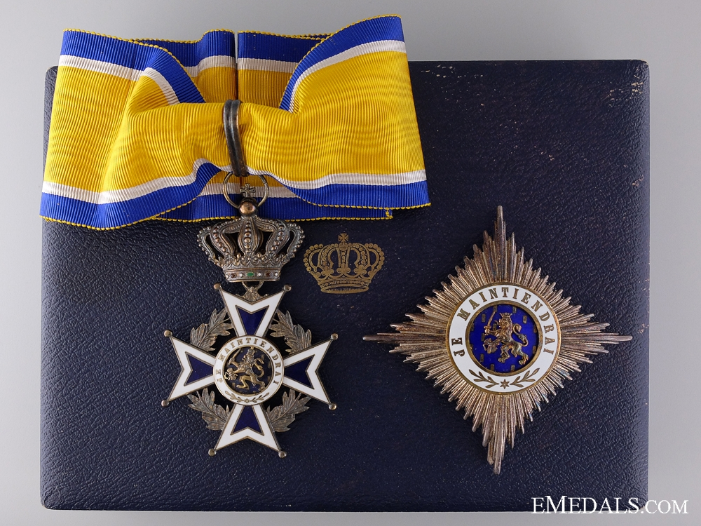 The Dutch Order of Orange-Nassau; Second Class Set