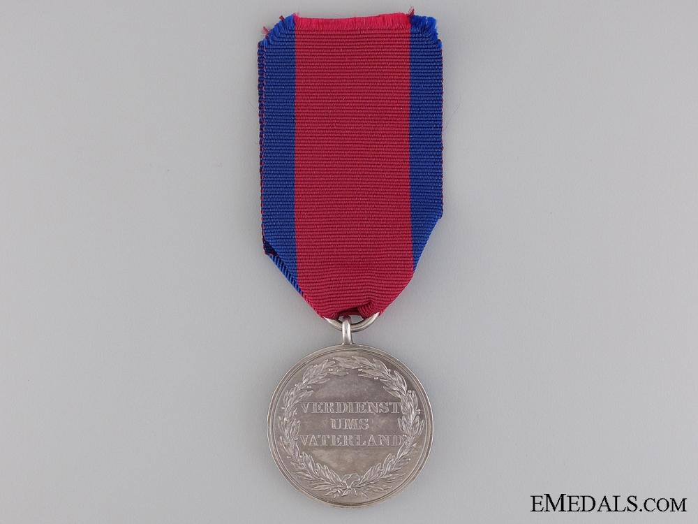 Waterloo Medal to the 1st Dragoons; King's German Legion