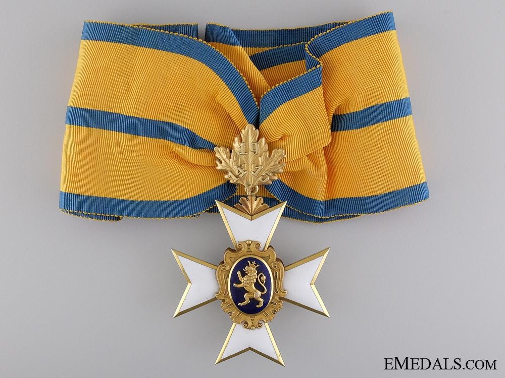 A Schwarzburg Sonderhausen Honour Cross First Class in Gold