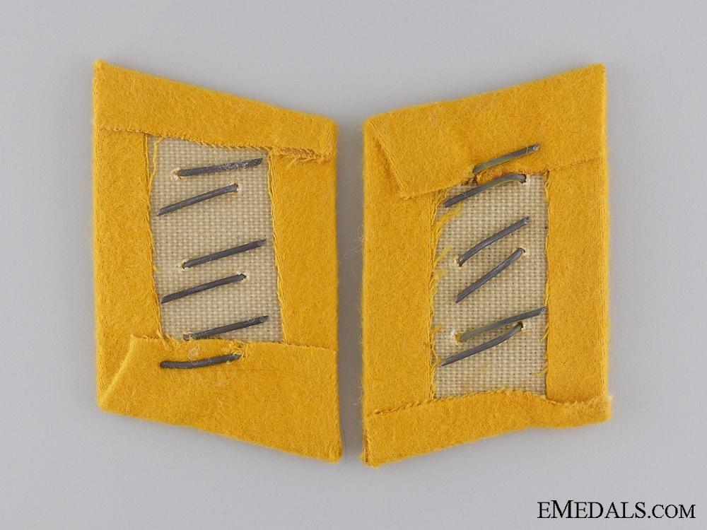 Set of Flight Feldwebel Collar Tabs