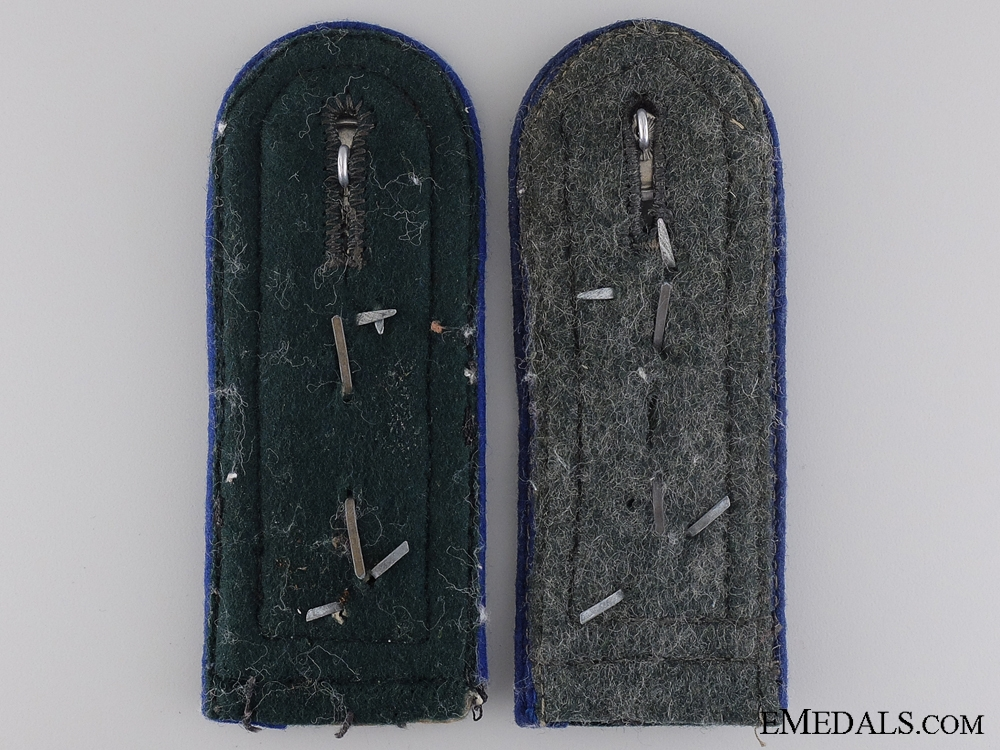 Army Medical Sanitäts-Oberfeldwebel Shoulder Boards