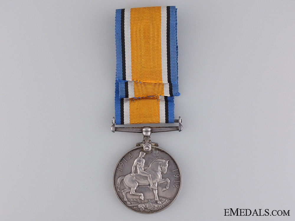 A First War British Medal to the Canadian Engineers