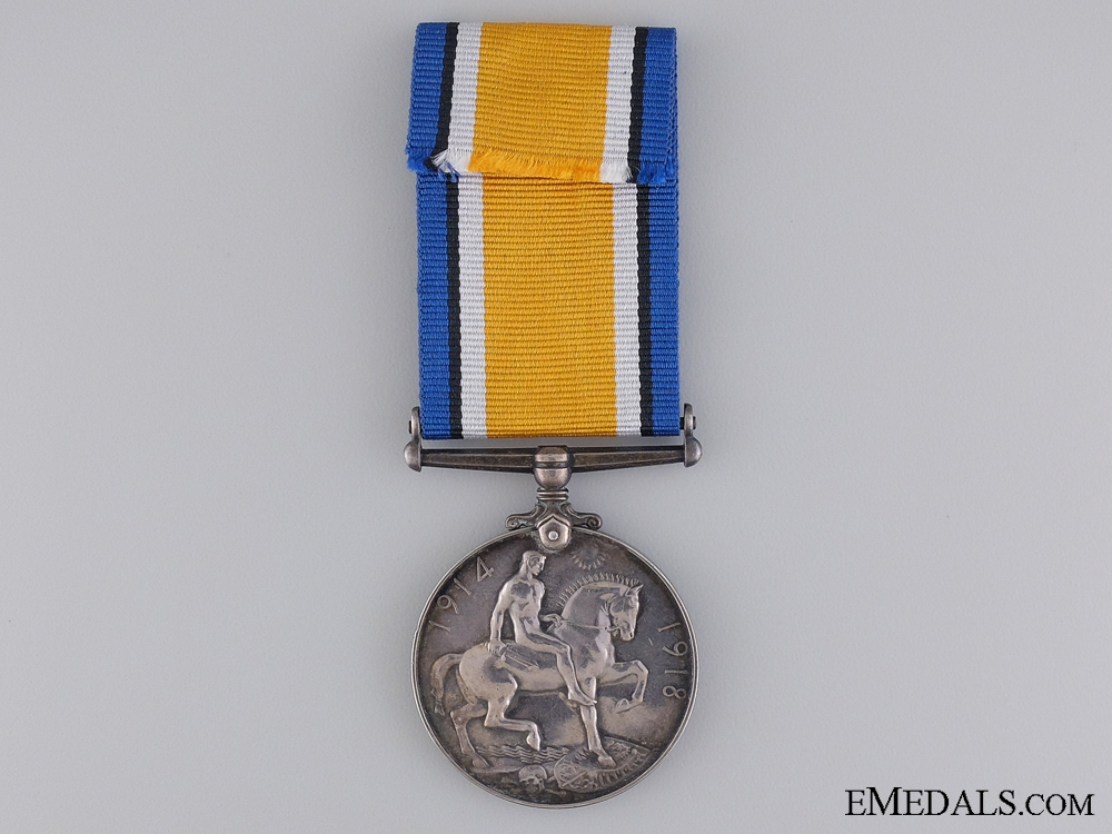 WWI British War Medal to the Canadian Forestry Corps