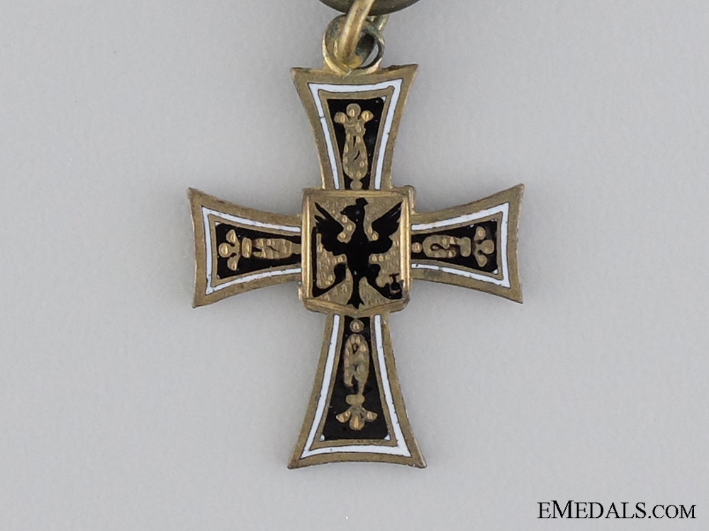 A Miniature Decoration of the German Knight's Order