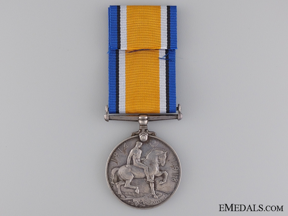 WWI British War Medal to the Canadian Field Artillery