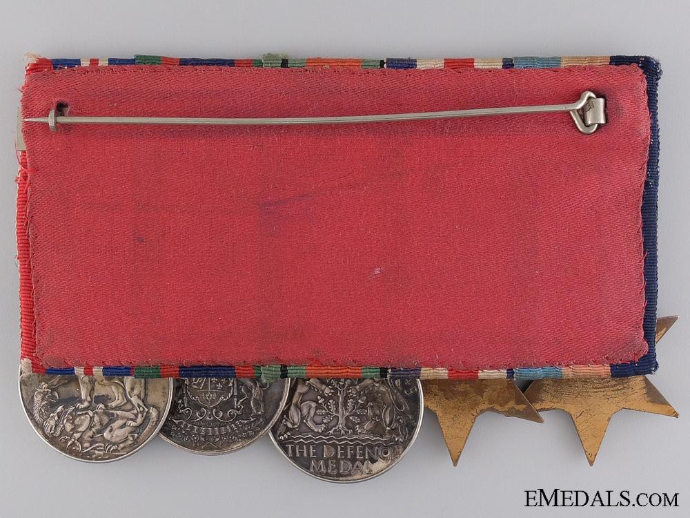 A Canadian Second War Service Medal Bar