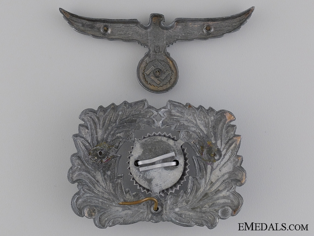 Custom Official's Visor Wreath and Cap Eagle