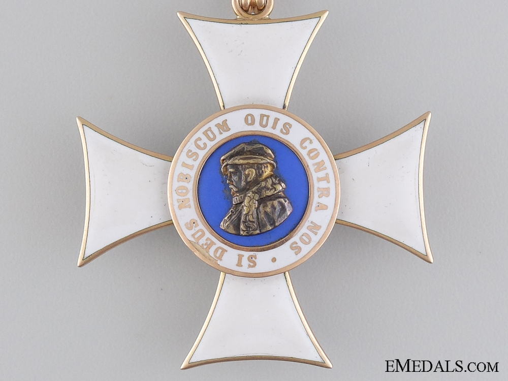 The Hessen Order of Philip the Magnanimous in Gold; Commander
