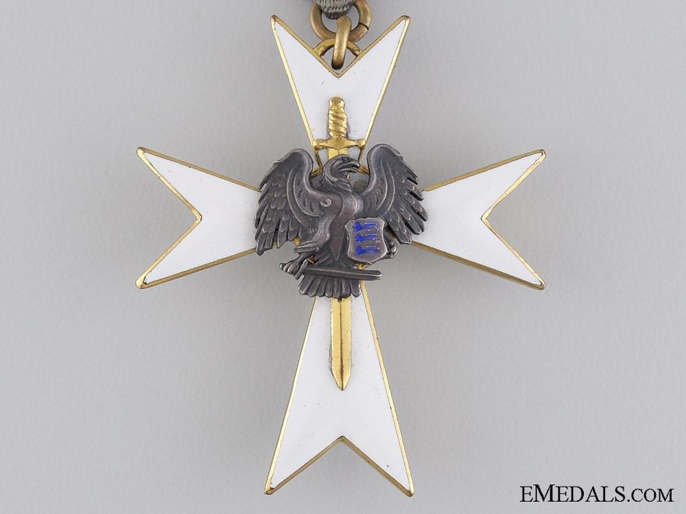 An Estonian White Cross of the Home Guard; Third Class