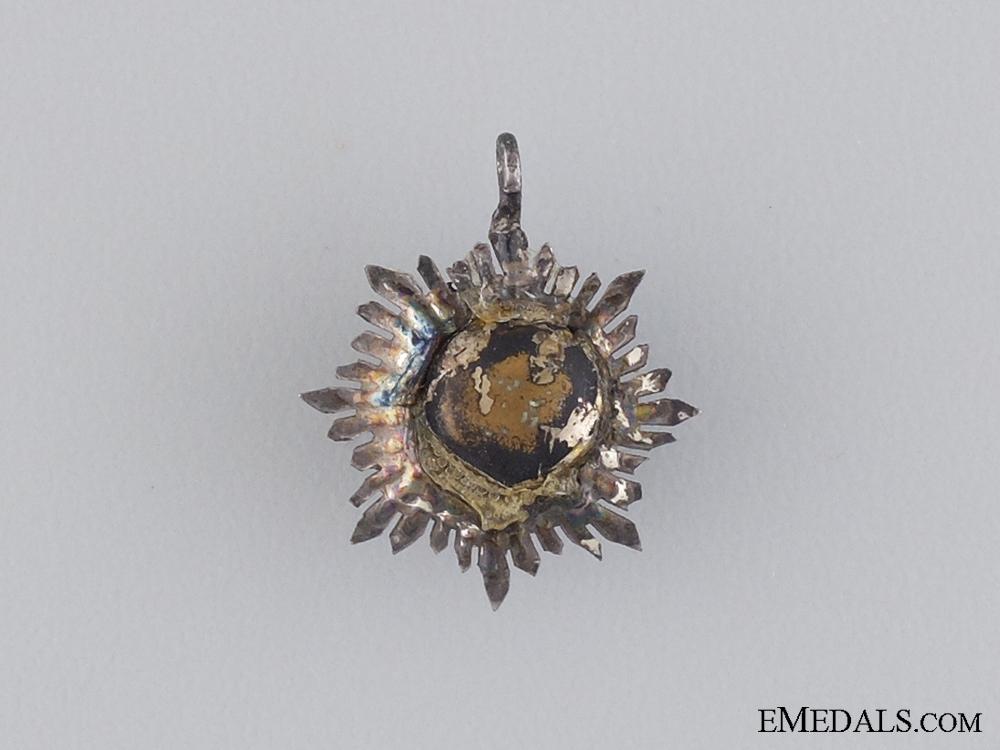 A Miniature Order of Merit of Liechtenstein