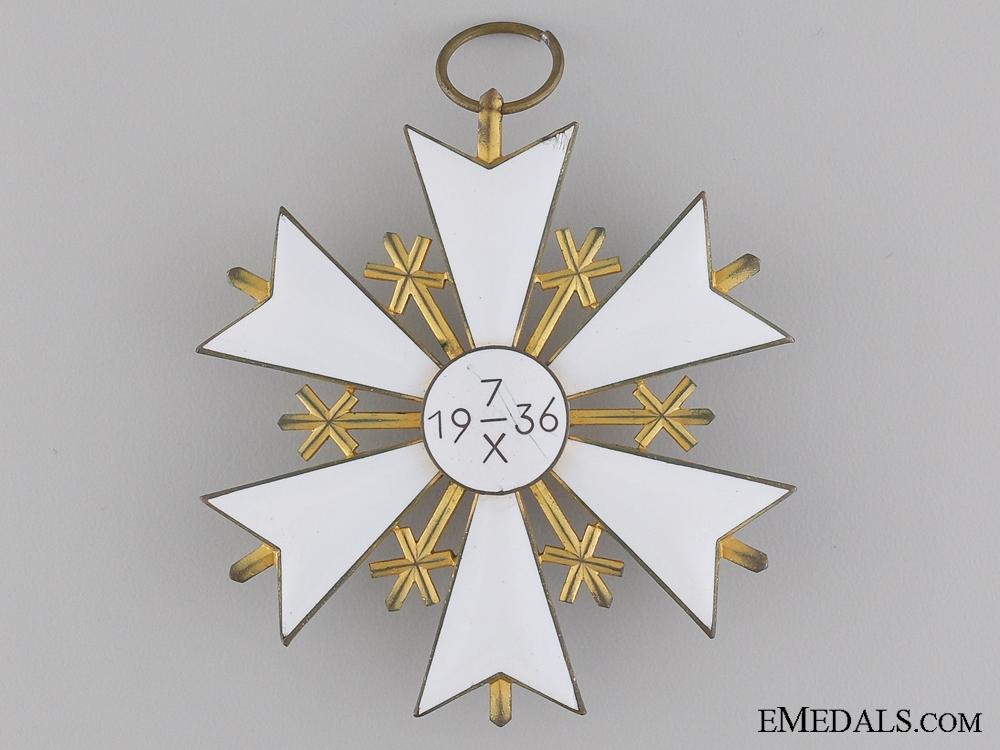 An Estonian Order of the White Star; First Class Cross