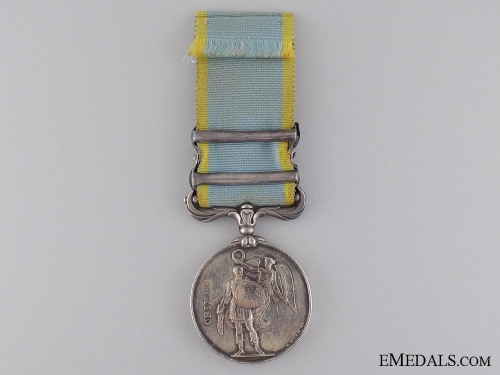 An 1854 Crimea Medal to the Royal Marines