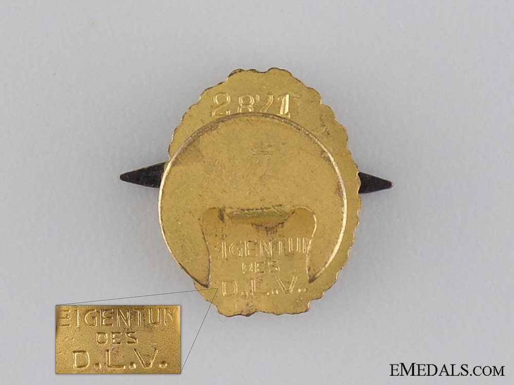 A Miniature DLV Supporters Badge,