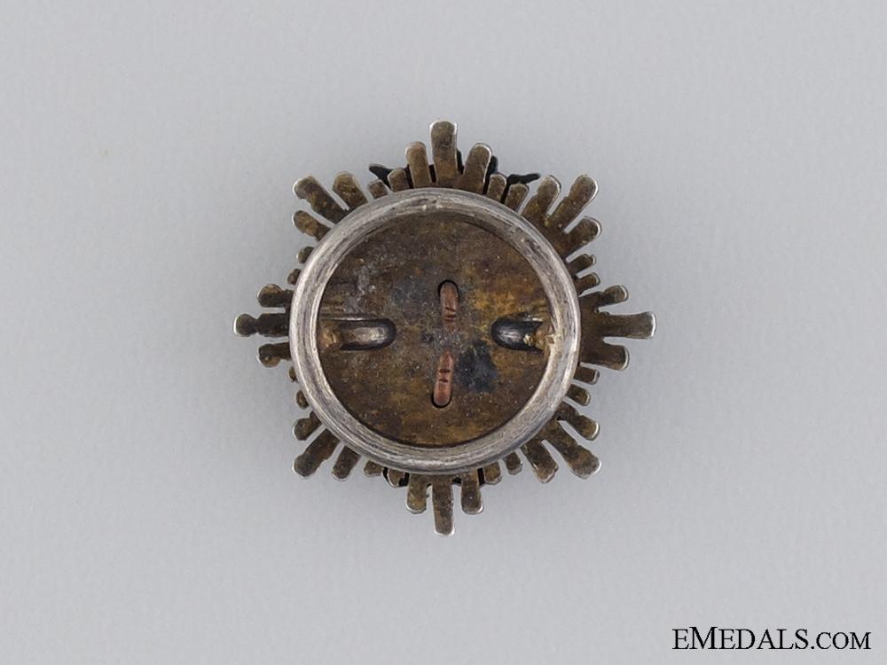 A Miniature Spanish Franco Era Extraordinary Cloister Breast Star