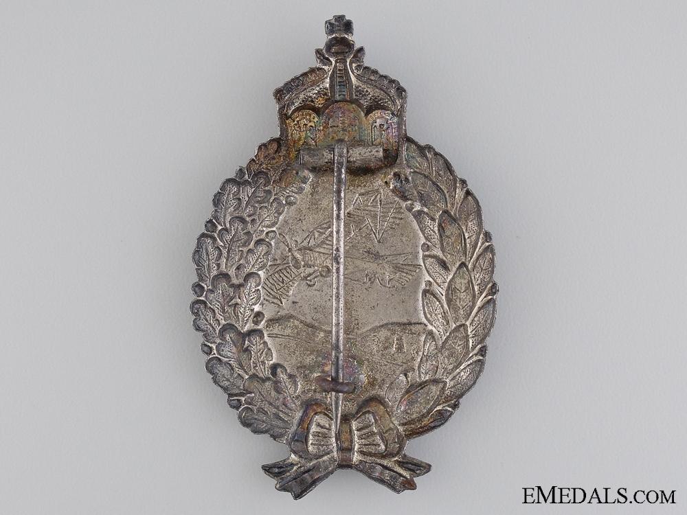 A First War Prussian Pilot's Badge by Juncker