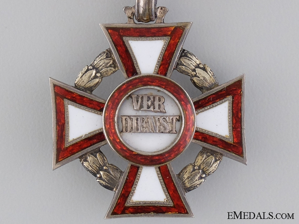 An Austrian Military Merit Cross by V.Mayer