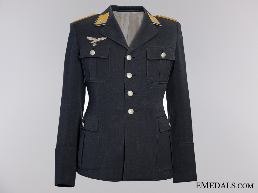 A Fine Fliger's Luftwaffe Tunic, Trousers & Side Cap