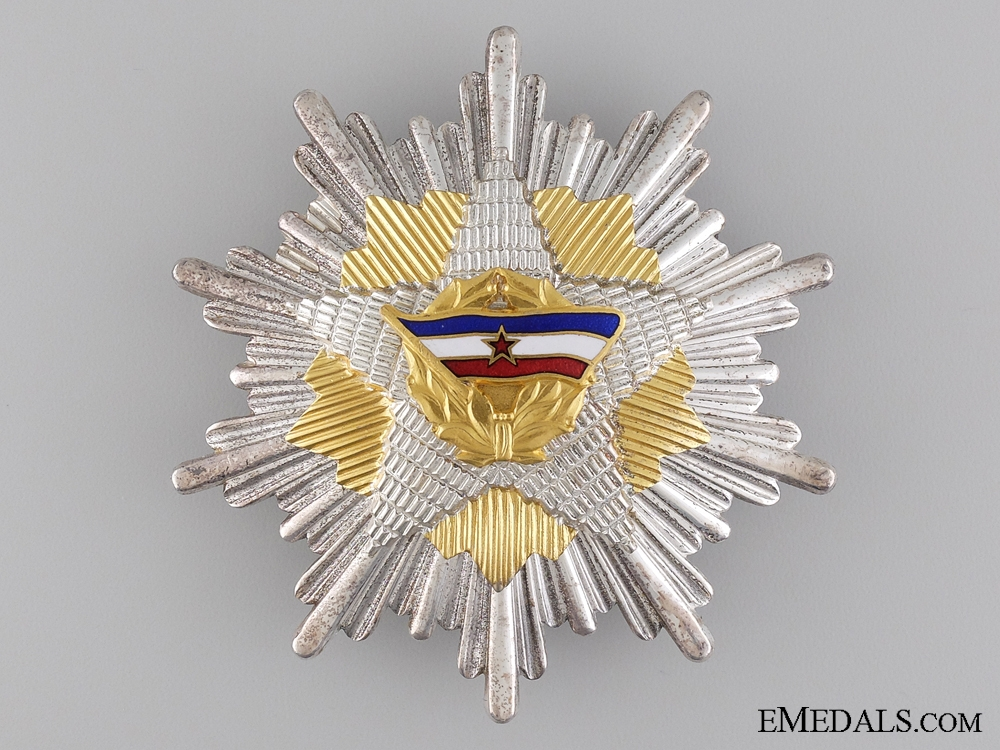 Yugoslavia, Republic. The Order of the Yugoslav Flag; Grand Cross