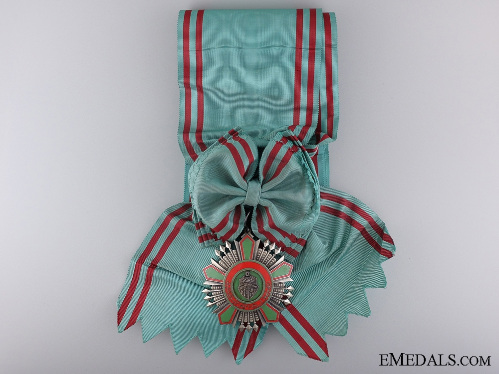 A Tunisia Order of the Republic; Grand Cross Set, Type II