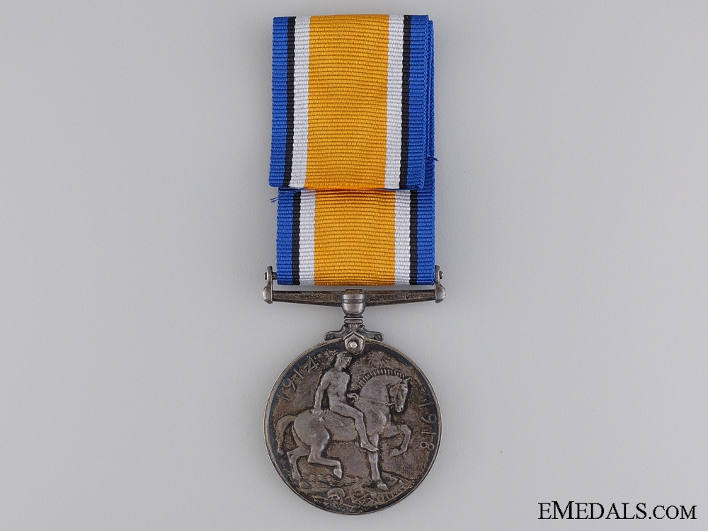 WWI British War Medal to the 54th Canadian Infantry