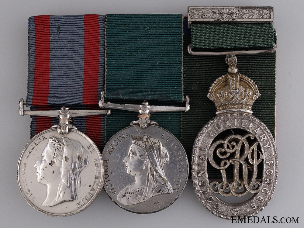 A Fine Victorian Medal Group to the Queen's Own Rifles of Canada