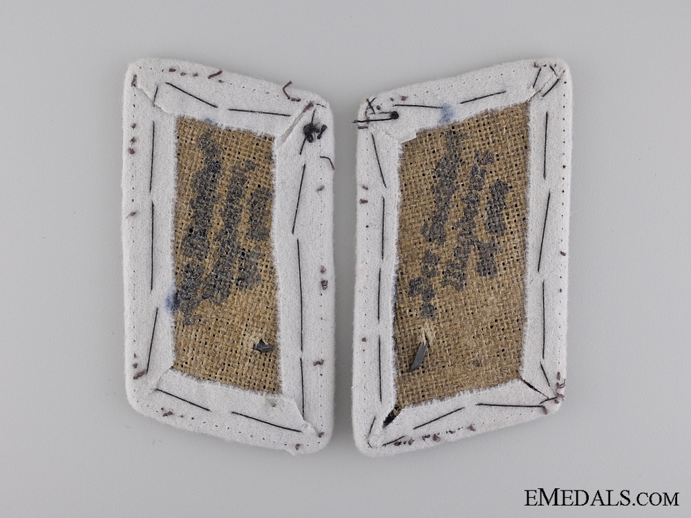 Stahlhelm Wehrmann Collar Tabs