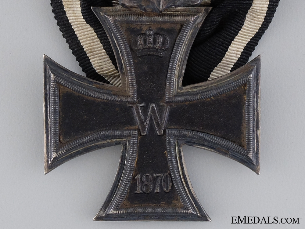 An 1870 Iron Cross Second Class with Jubilee Spange