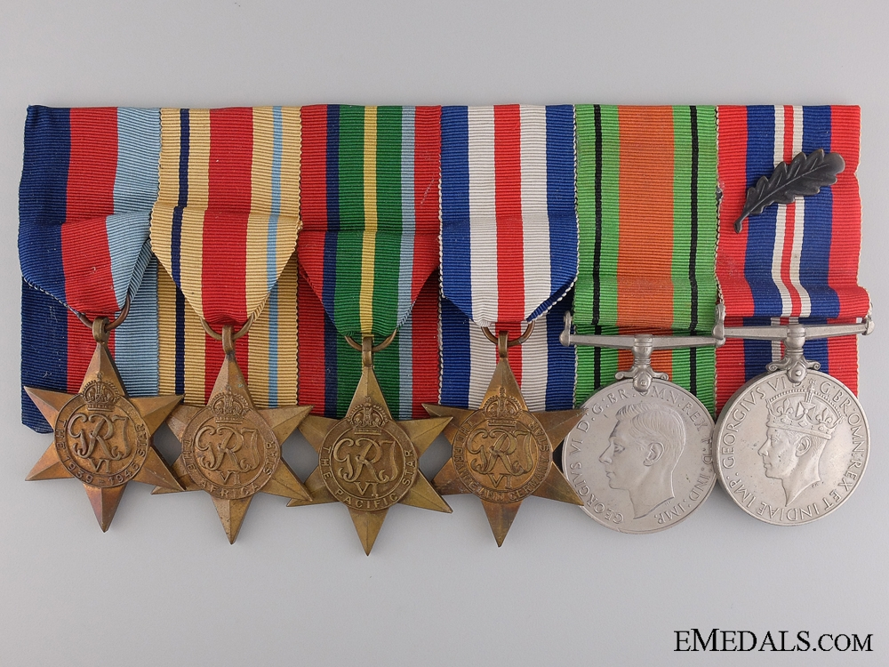 A Second War MID Medal Group to the Royal Marines