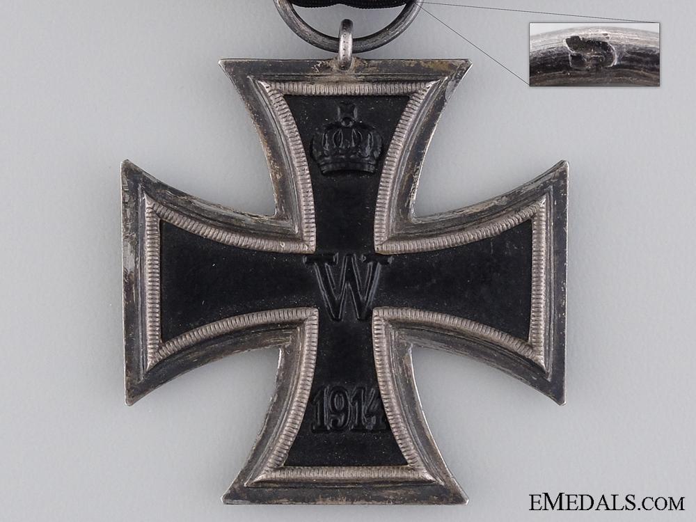 An First War Iron Cross 2nd Class 1914 by Juncker