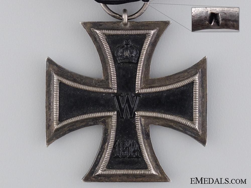 An First War Iron Cross 2nd Class 1914 by Wagner