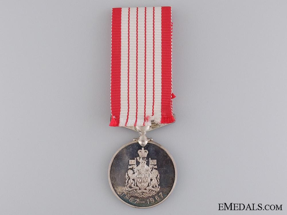 The Canadian Centennial Medal 1967