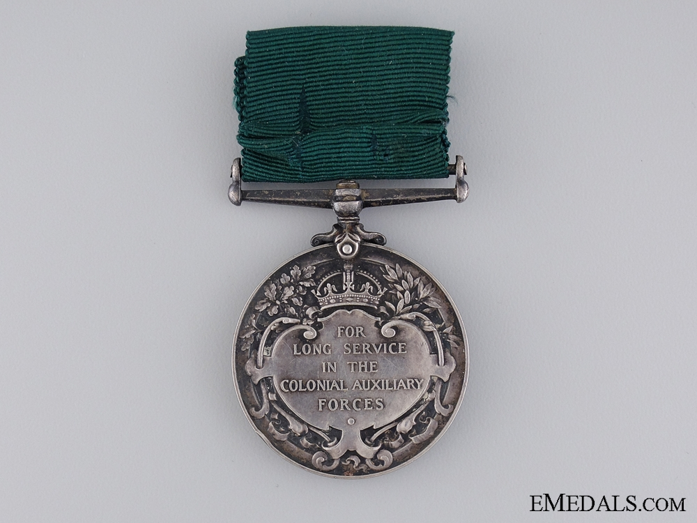 Colonial Auxiliary Forces Long Service & Good Conduct Medal