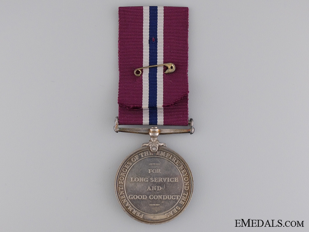 Permanent Forces of the Empire Beyond the Seas Long Service and Good Conduct Medal