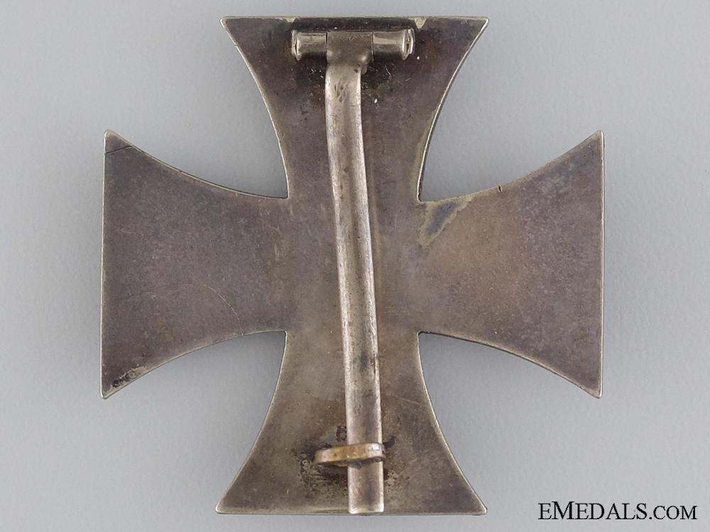 A 1914 Iron Cross First Class; Marked