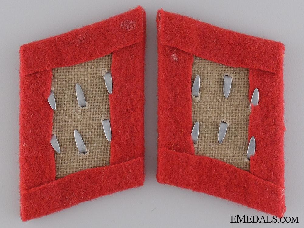Luftwaffe Anti-Aircraft Gefreiter Collar Tab Set
