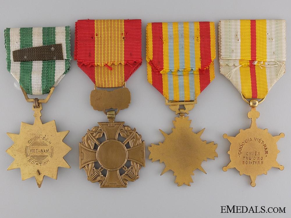 A Vietnamese Gallantry Medal Group