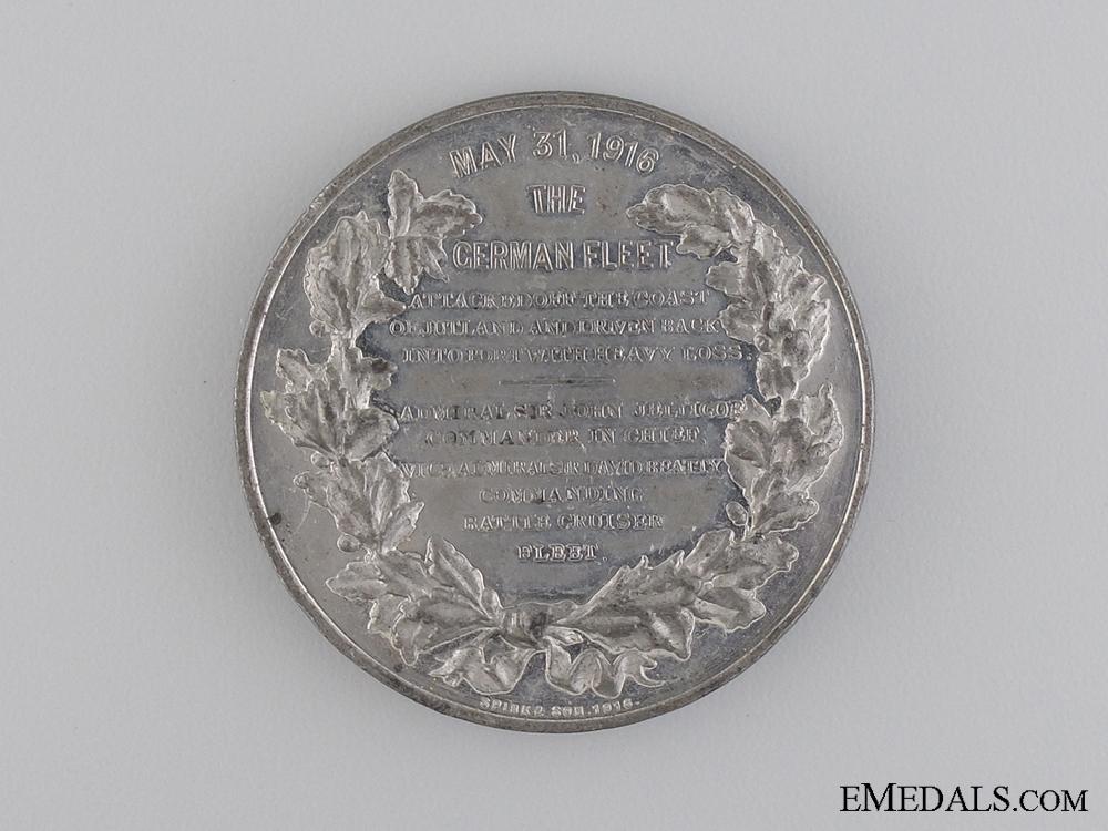A 1916 Battle of Jutland Commemorative Medal by Spink