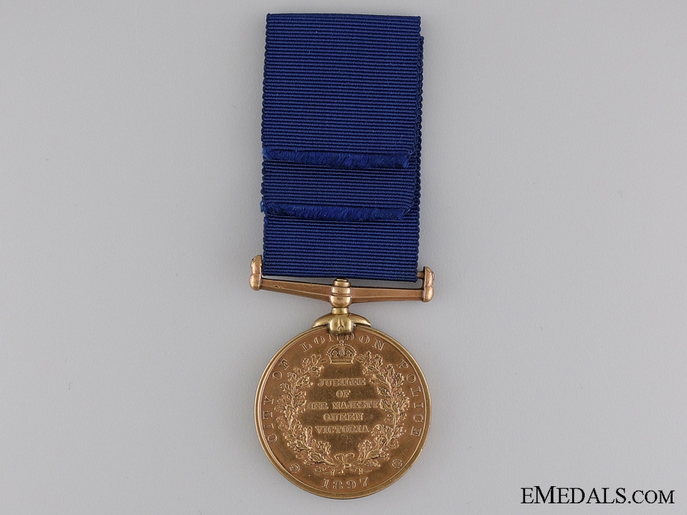1887 London Police Jubilee Medal to P.C.Finn