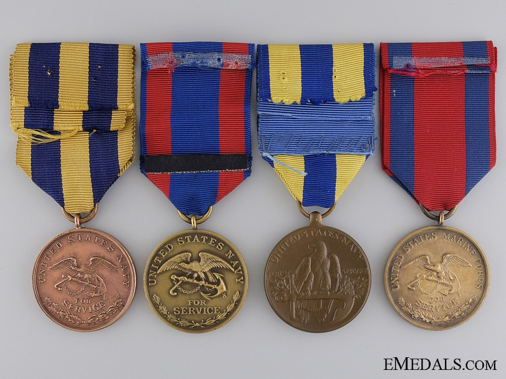 A Group of Four American Campaign Medals