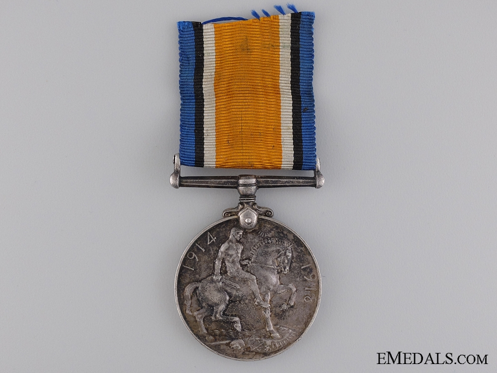 A WWI British War Medal to the 87th Punjabis Regiment