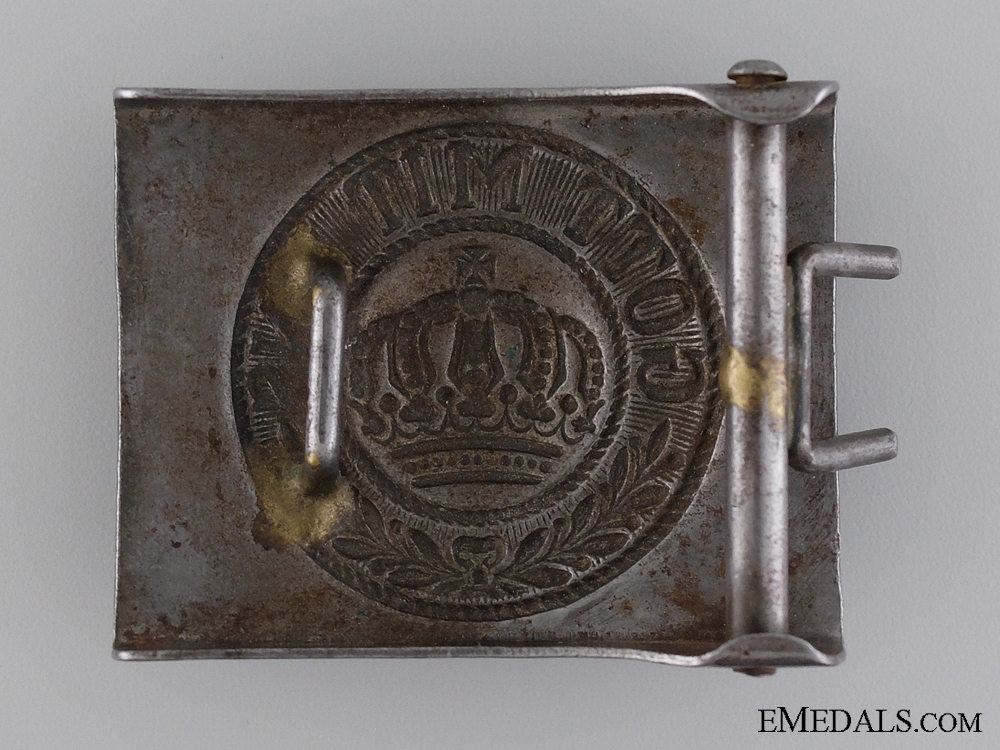 A WWI German Imperial EM/NCO's Belt Buckle