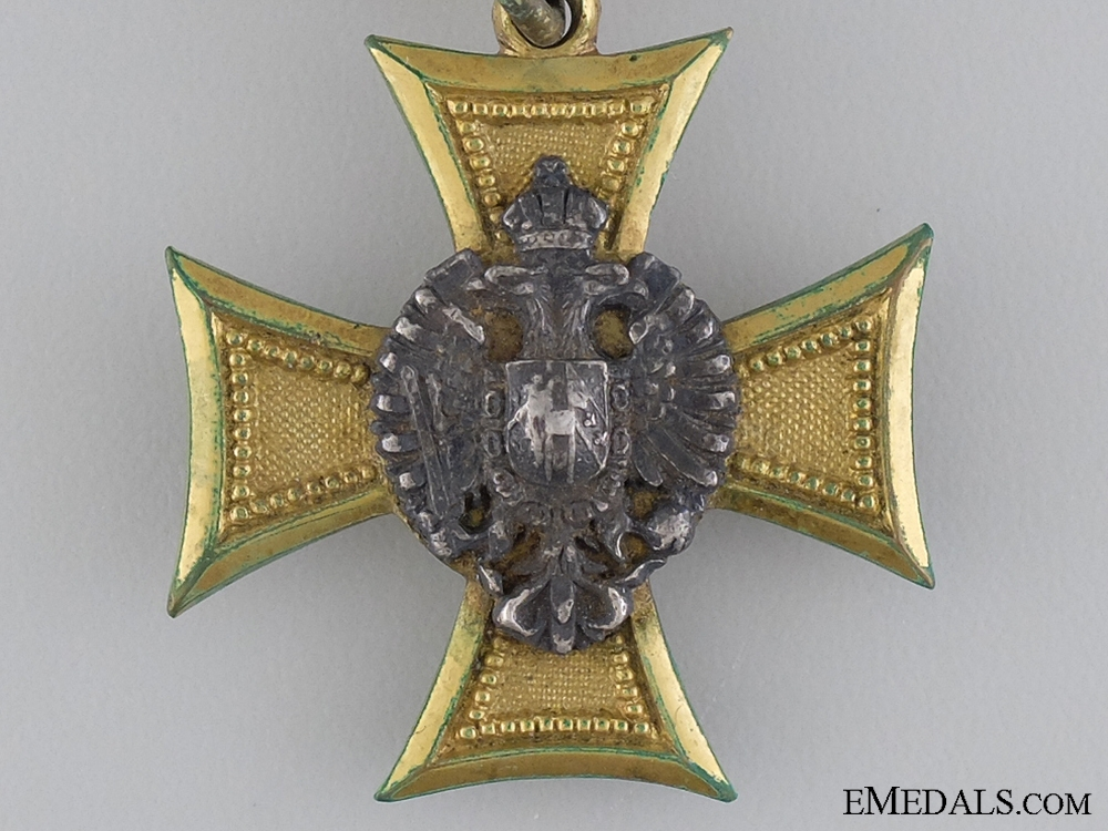 An Austrian Officer's Long Service Cross for 25 Years