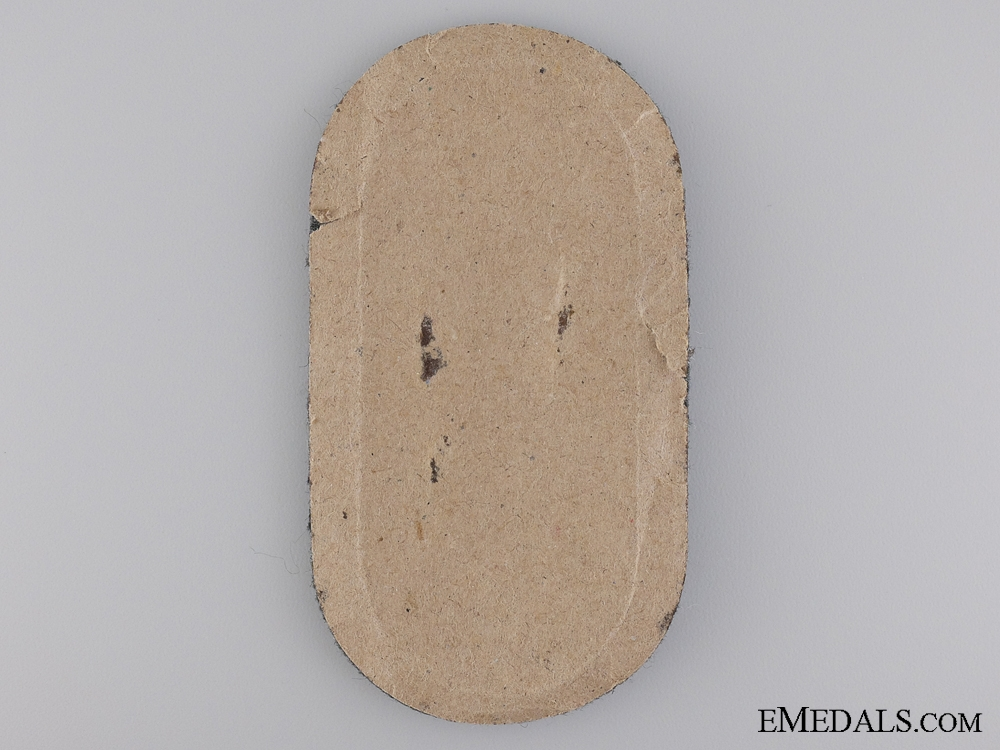 A Narvik Campaign Shield; Army Issue