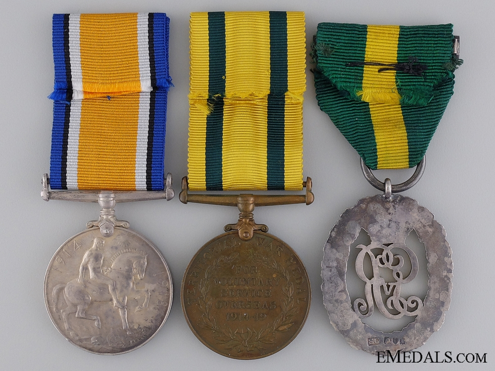 An Efficiency Group to Lt. Col. Harris; SS Princess Alice Survivor