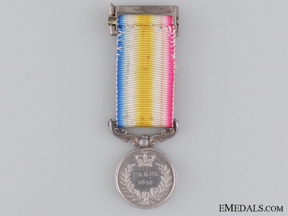 An 1842 Miniature Cabul Campaign Medal
