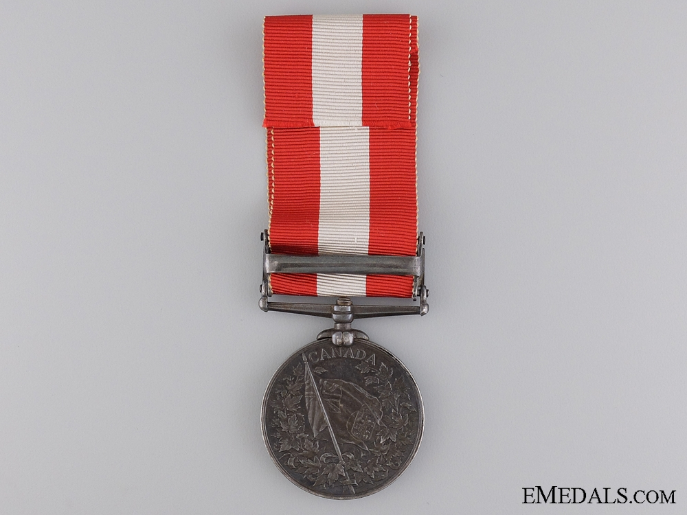 A 1866 Canada General Service Medal for the Battle of Fort Erie