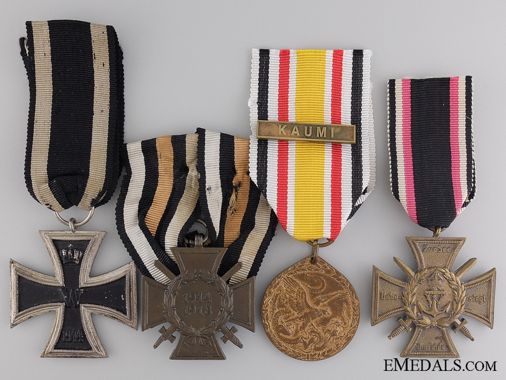A Great War Iron Cross Group to the German Imperial Navy