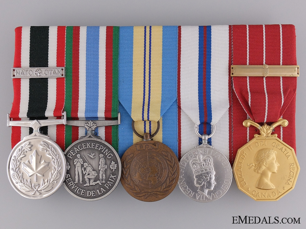 A Canadian Peace Keeping Medal Group